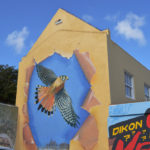 Street Art Scharloo Flying Eagle Myronchitrip